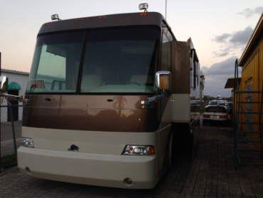 Beach Fender Mender offers RV painting and repair.