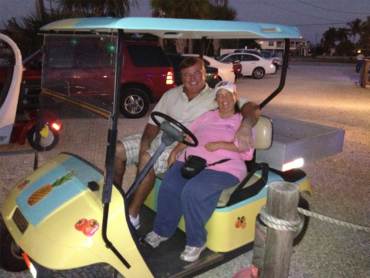 We customize and refinish golf carts for casual travel around Fort Myers, FL.