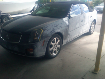Beach Fender Mender can make your car shine with a new paint job.