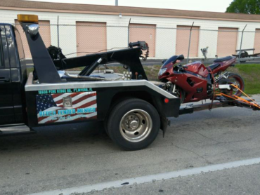 We have a variety of trucks to tow any vehicle.