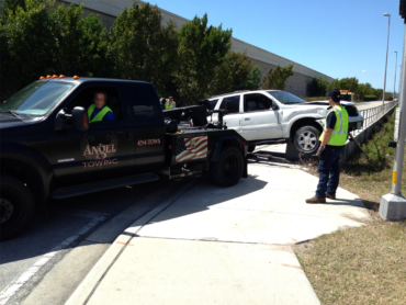 Angel Towing offers fast & friendly towing across Lee County, FL