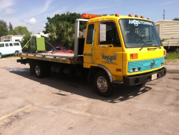 We'll tow almost anything, including your heavy safes!