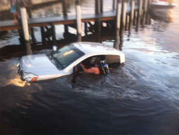 Angel Towing is qualified to make full water recoveries.